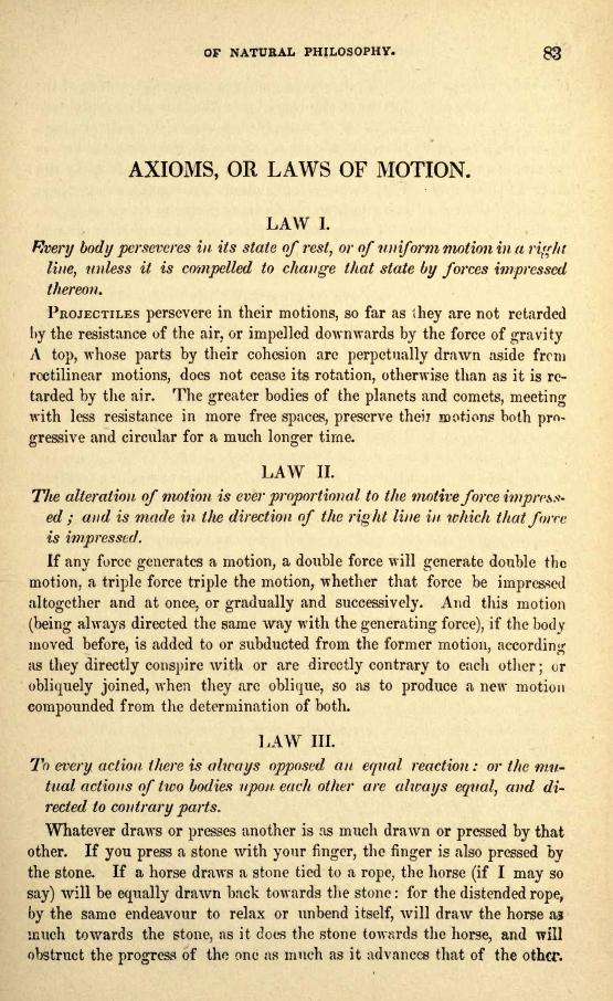 Newton Laws